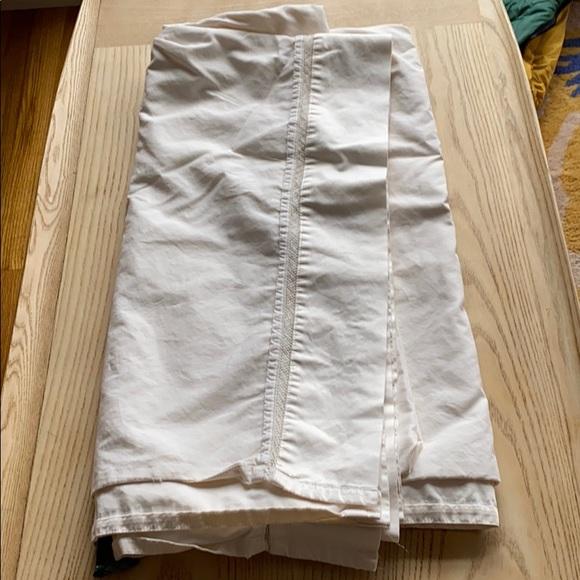 Ralph Lauren ivory flat sheet king sized